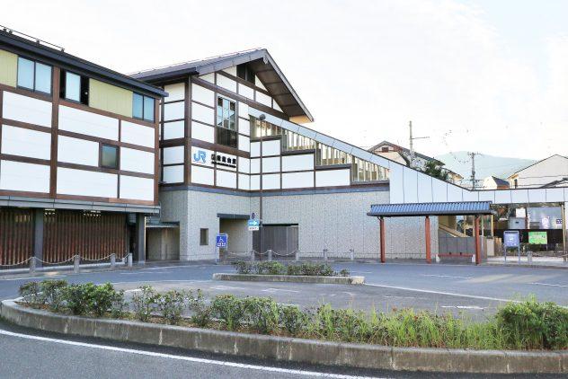 JR嵯峨嵐山駅