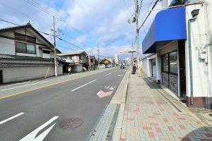 前道(東大路通り)