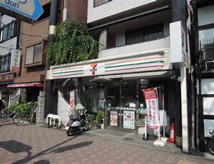 セブンイレブン京都東山団栗橋前店